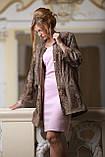 Пальто из каракульчи Svakara со съемной опушкой из куницы, фото 6