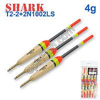 Поплавок Shark Тополь T2-2+2N1002LS (10шт)