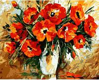 Картина по номерам Маков цвет (40 х 50 см)