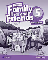 Рабочая тетрадь Family and Friends 2nd Edition 5 Workbook