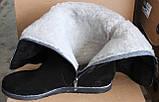 Сапоги женские зимние замшевые большого размера от производителя модель БР105, фото 4
