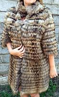 Пальто из меха енота., фото 1