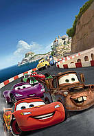 "Фотообои 127х184см, KOMAR DISNEI ""Cars Italy"" (1-402)"