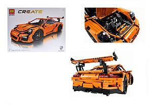 Конструктор спорткар Порш 911 GT3 RS, Бела CREATE 10570, 2704 дет., техник