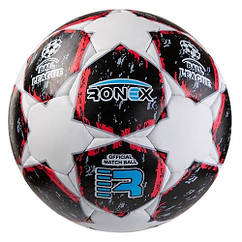 М'яч футбольний Ronex AD/F5 RXG-F5BK