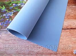 Фоамиран для ростовых цветов, 2 мм, 50х50 см, цвет светло-голубой