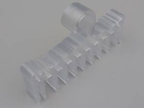 Плечики вешалки пластмассовые для нижнего белья V-NG18 прозрачного цвета, длина 17,5 см, 10 штук в упаковке