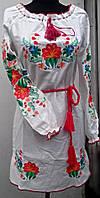 Вышитое платье в украинском стиле , фото 1