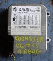 Блок управления Airbag Skoda Roomster  2006-2015 1.6 16V 1c0909605k