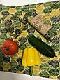 Многоразовая восковая упаковка для продуктов, багаторазова серветка обгортка, екопакування, вощені серветки, фото 2