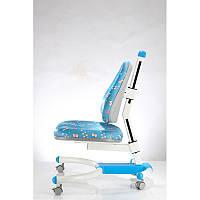 Детское кресло «Enlightening Chair» К-639 Blue, обивка синяя анимация