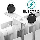 Электрорадиатор ELECTRO.6S, термостат+программатор, 720 Вт, 570х525х96, фото 5