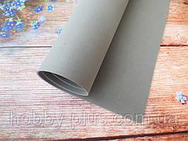 Фоамиран для ростовых цветов, 2 мм, 50х50 см, цвет серый