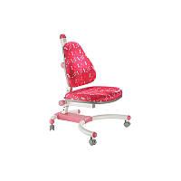 Детское кресло «Enlightening Chair» К-639 Pink dandelion, обивка розовая в цветочек