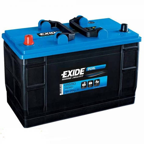 EXIDE 6СТ-115 Аз ER550 DUAL Тяговый аккумулятор, фото 2