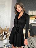 Женское замшевое платье-рубашка (в расцветках), фото 4