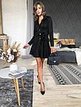 Женское замшевое платье-рубашка (в расцветках), фото 7