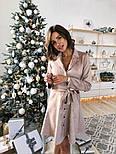 Женское замшевое платье-рубашка (в расцветках), фото 8