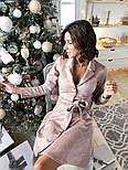 Женское замшевое платье-рубашка (в расцветках), фото 10