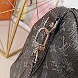 Дорожная сумка Луи Витон, Monogram Graphite 50 см, кожаная реплика, фото 8