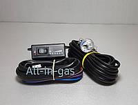 Кнопка переключения газ/бензин Astar Gas инжекторная с датчиком уровня