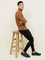 Джинсы мужские стрейчевые черные скинни New Look Super Skinny (Размер 48-50 (L, 34/32, UK 36/34))