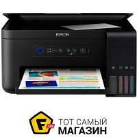 Мфу стационарный L4150 Wi-Fi (C11CG25403) a4 (21 x 29.7 см) для малого офиса - струйная печать (цветная)