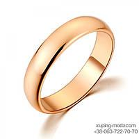 Обручальное кольцо из медицинского золота. Xuping