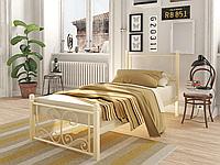 Кровать кованая Нарцисс Мини Тенеро (на деревянных ногах), фото 1
