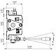 Распределитель гидравлический восьмисекционный Akon S58 (50013108000), фото 3