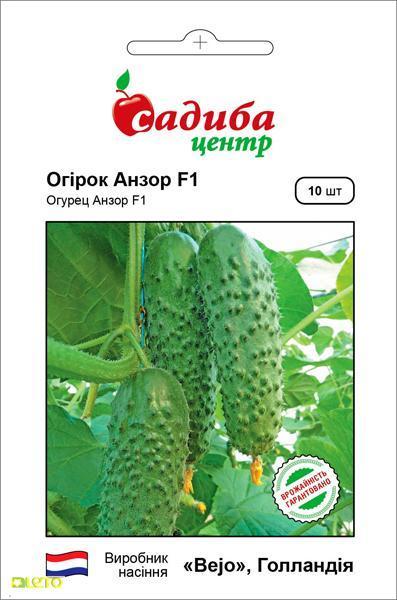 Семена огурца Анзор F1, Bejo, Голландия 10 шт
