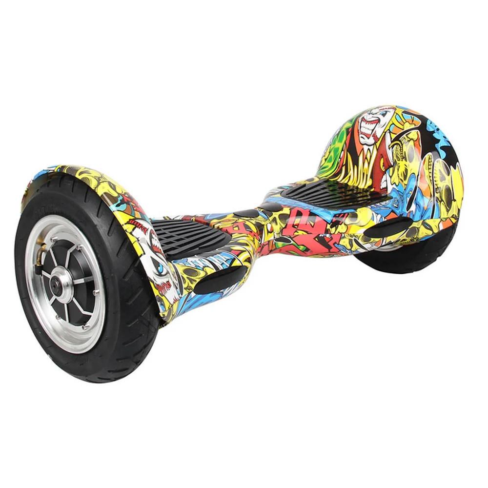 "Гироскутер Smart Balance Wheel10"" i10  №1 Черепа 2 (АКБ Samsung) APP+BT"