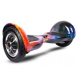 "Гироскутер Smart Balance Wheel10"" i10 №2 Космос жовтий, синій (АКБ Samsung) APP+BT"