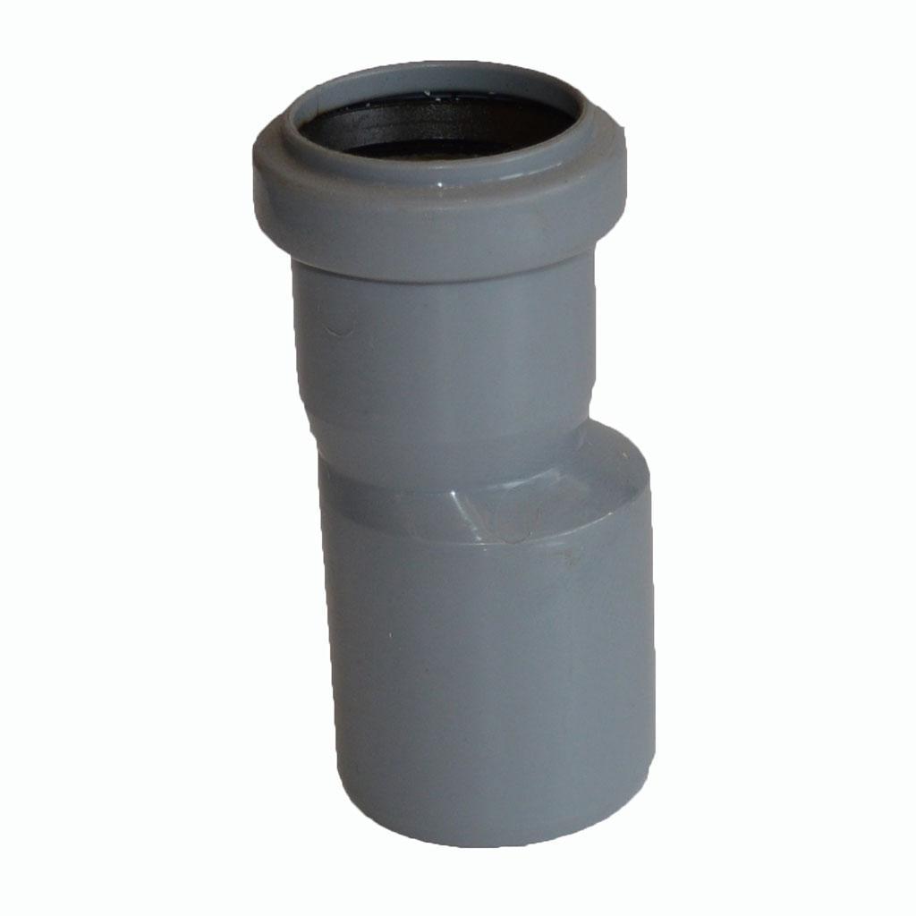 Редукция канализационная d 50/40/180°, PP, серая