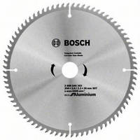 Диск пильный 250х30-80Т ECO ALU/Multi//Bosch