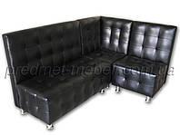 Угловой модульный диван Лондон для кафе, баров, ресторанов, офиса, приемной, залов ожидания