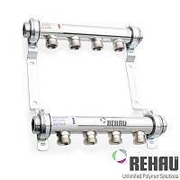 Распределительный коллектор Rehau HLV 6 (без расходомеров)