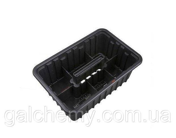 Інструментальний кошик детейлера чорний Tool Basket SGGD147 42.5 х 28.5 х 15.5 cm, SGCB