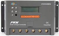 Контроллер заряда ШИМ (PWM)  30А 12/24/36/48В с дисплеем (VS3048BN) EPSolar