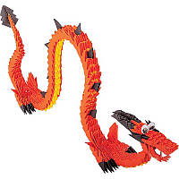 """Модульное оригами """"Китайский огненный дракон"""""""