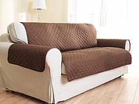 Покрывало-накидка на диван двустороннее Couch Coat Коричневое