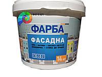 Фасадная краска Рідна Хатина 14 кг