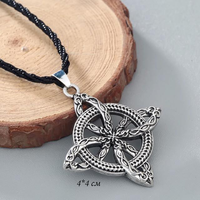 Кулон кельтский крест