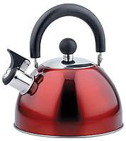 Чайник со свистком 2.5 л Aurora, фото 1