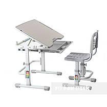 Комплект парта + стул трансформеры Vivo Grey FUNDESK - ОПТОМ ДЛЯ ШКОЛ, фото 3