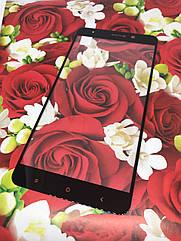 Xiaomi Mi 5s Plus + защитное 2,5D 3D стекло Full Cover (черная окантовка) полное покрытие