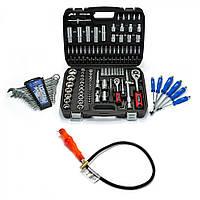 Набор инструментов 108 ед. Profline 61085 + набор ключей 12 ед. Miol 51-710+Набор ударных отверток 6 шт Miol