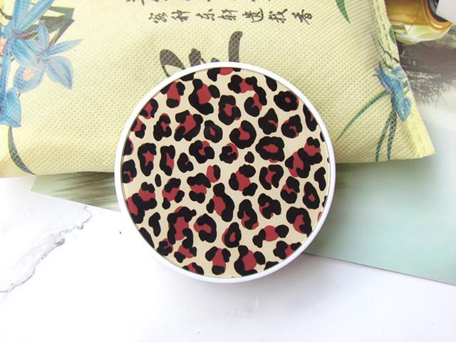 Дорожный комплект для контактных линз Леопардовый бежевый