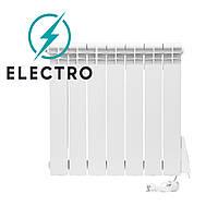 Электрорадиатор ELECTRO.6Т, стандарт 500/96 (168Вт) термостат 650Вт