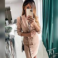Женское Стильное Платье с кружевом, фото 1